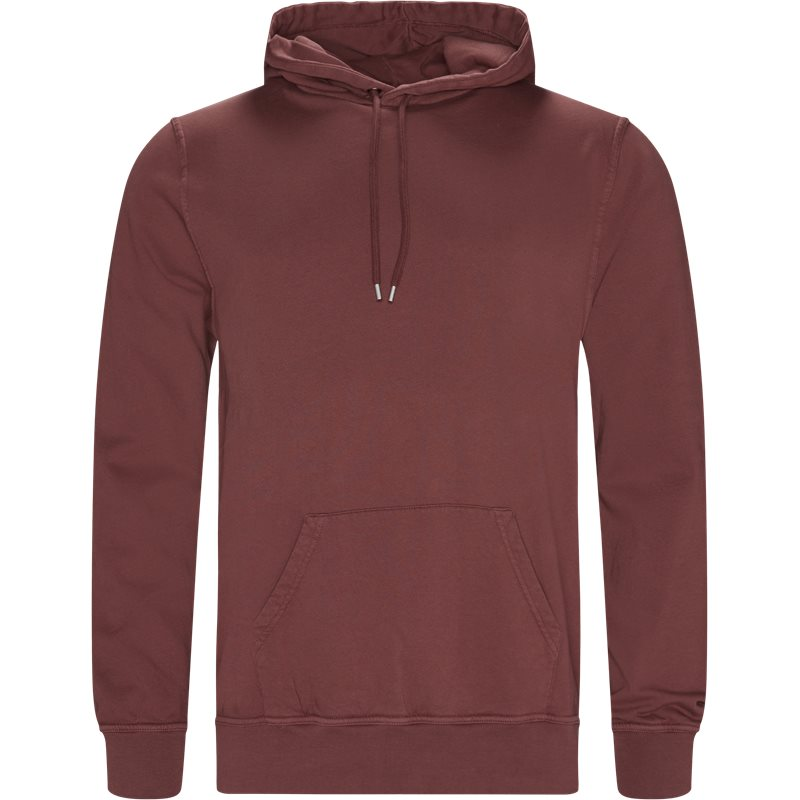 Billede af Doppia Corsia Douro Hoodie Ox Blood
